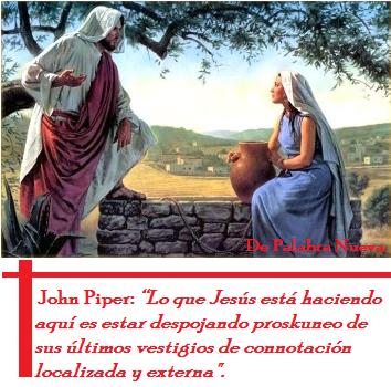 Outlook Mission, Jesus y la mujer samaritana