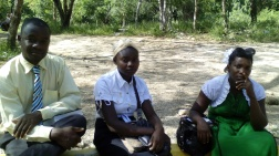 Baptism and Eucharist in the mountains of the Jaragua National Park,
